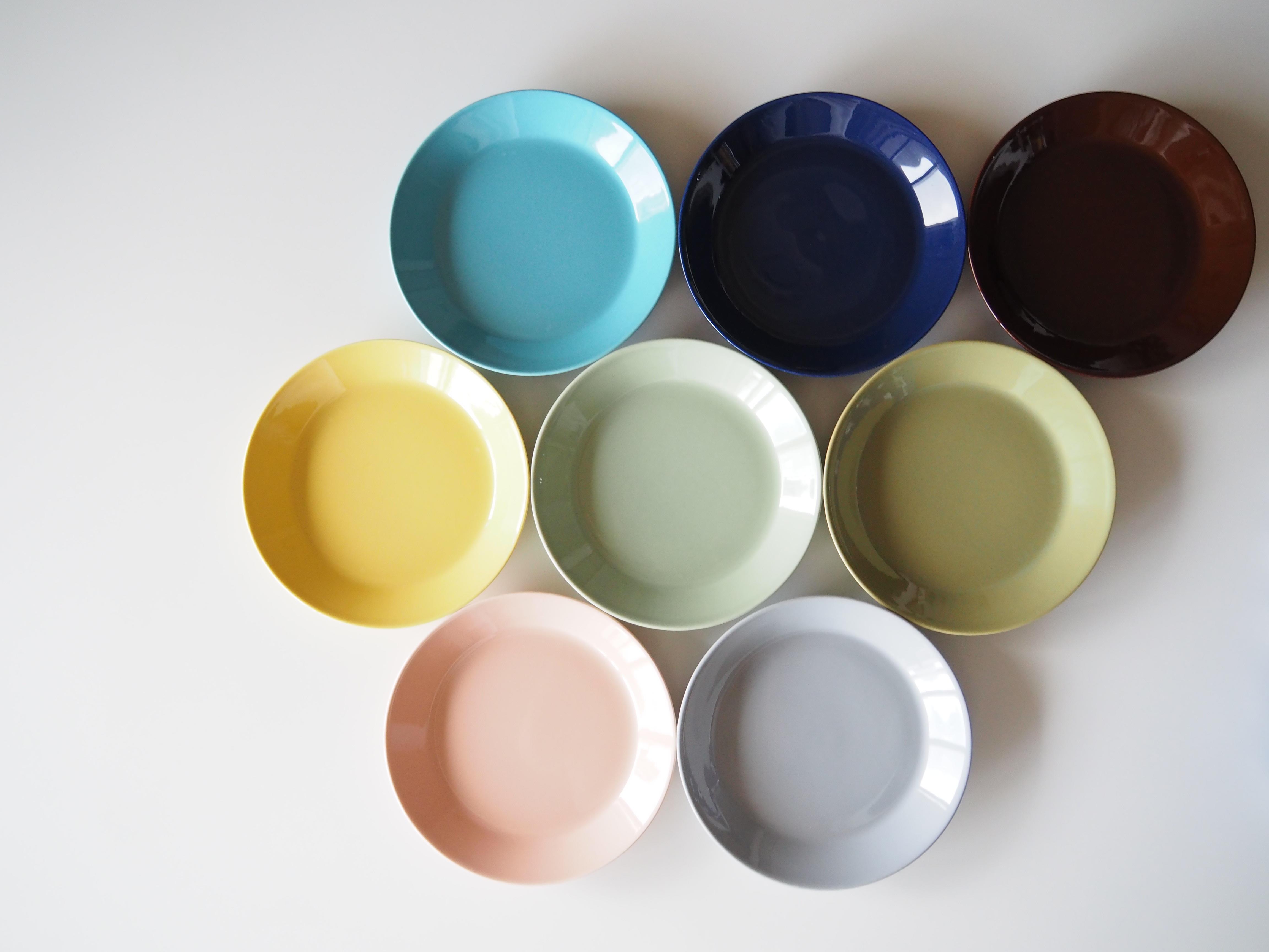 <今年も一番活躍した食器!>カラーを楽しむティーマ