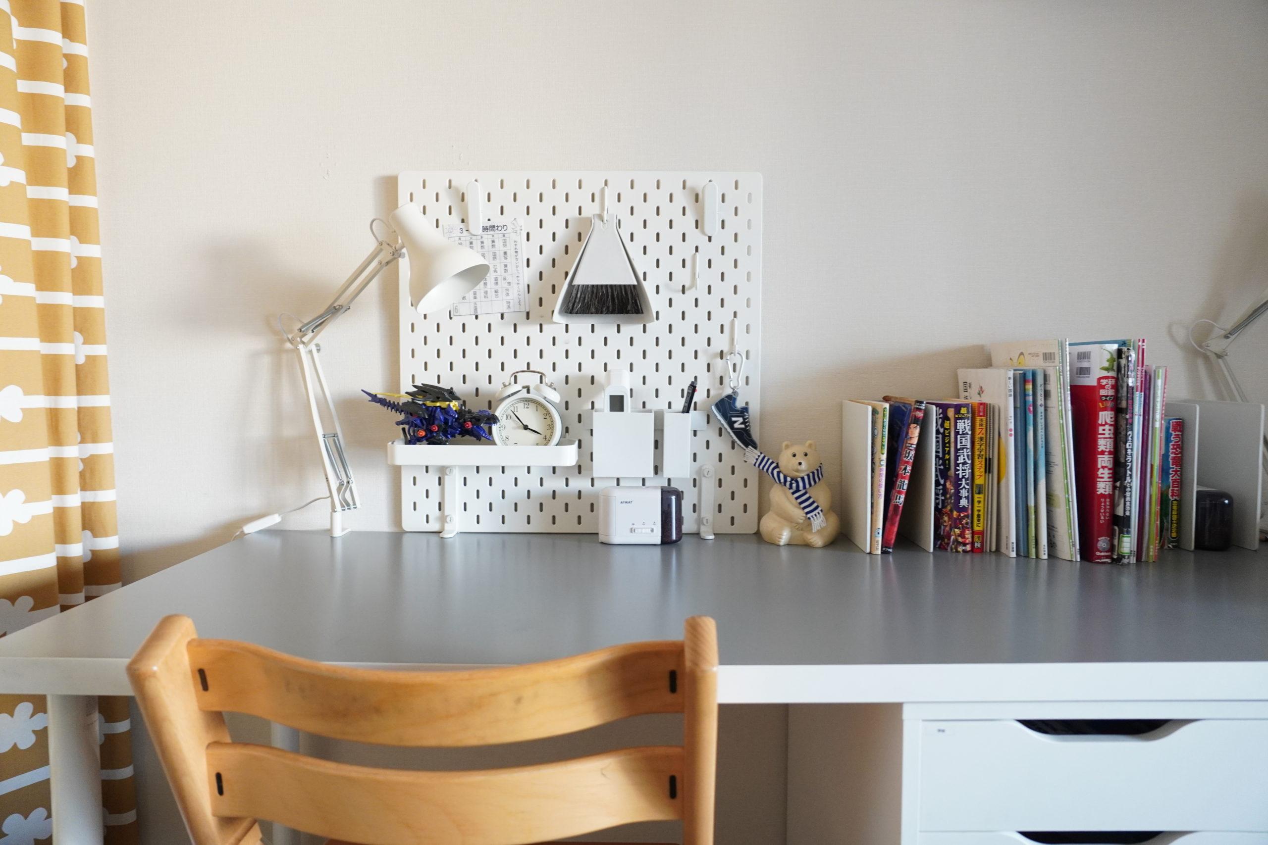 【IKEA×無印良品】学習机を快適にするアイデア6つ