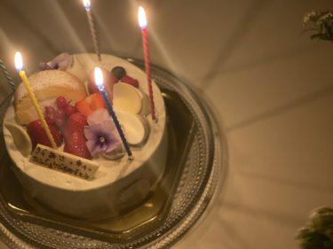 <mybirthday>ひとつ歳を重ねました〜!
