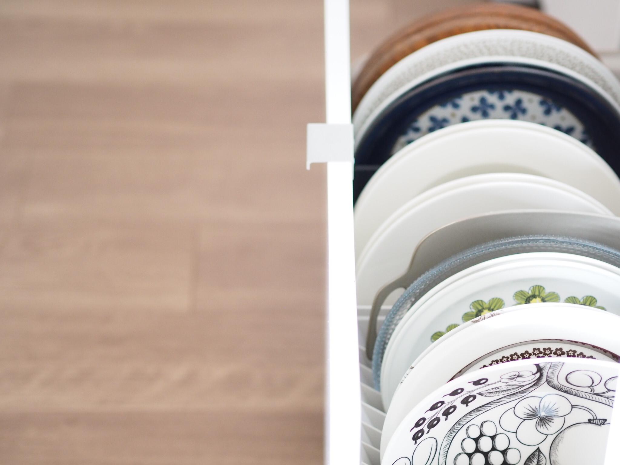 <キッチンの収納改善!>引き出し編・大皿