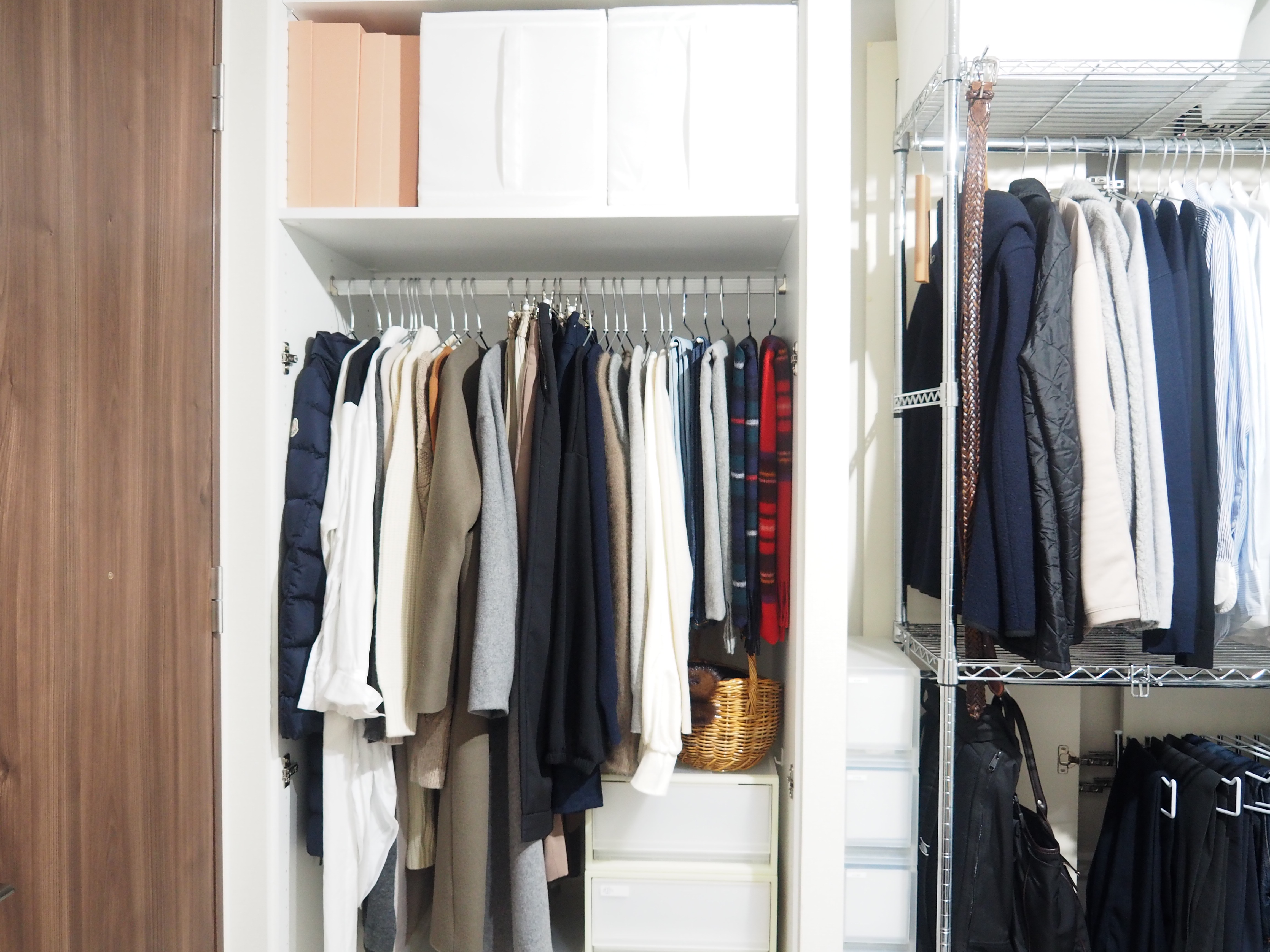 <狭いスペースでも楽しみたい!>マンション暮らしの洋服収納