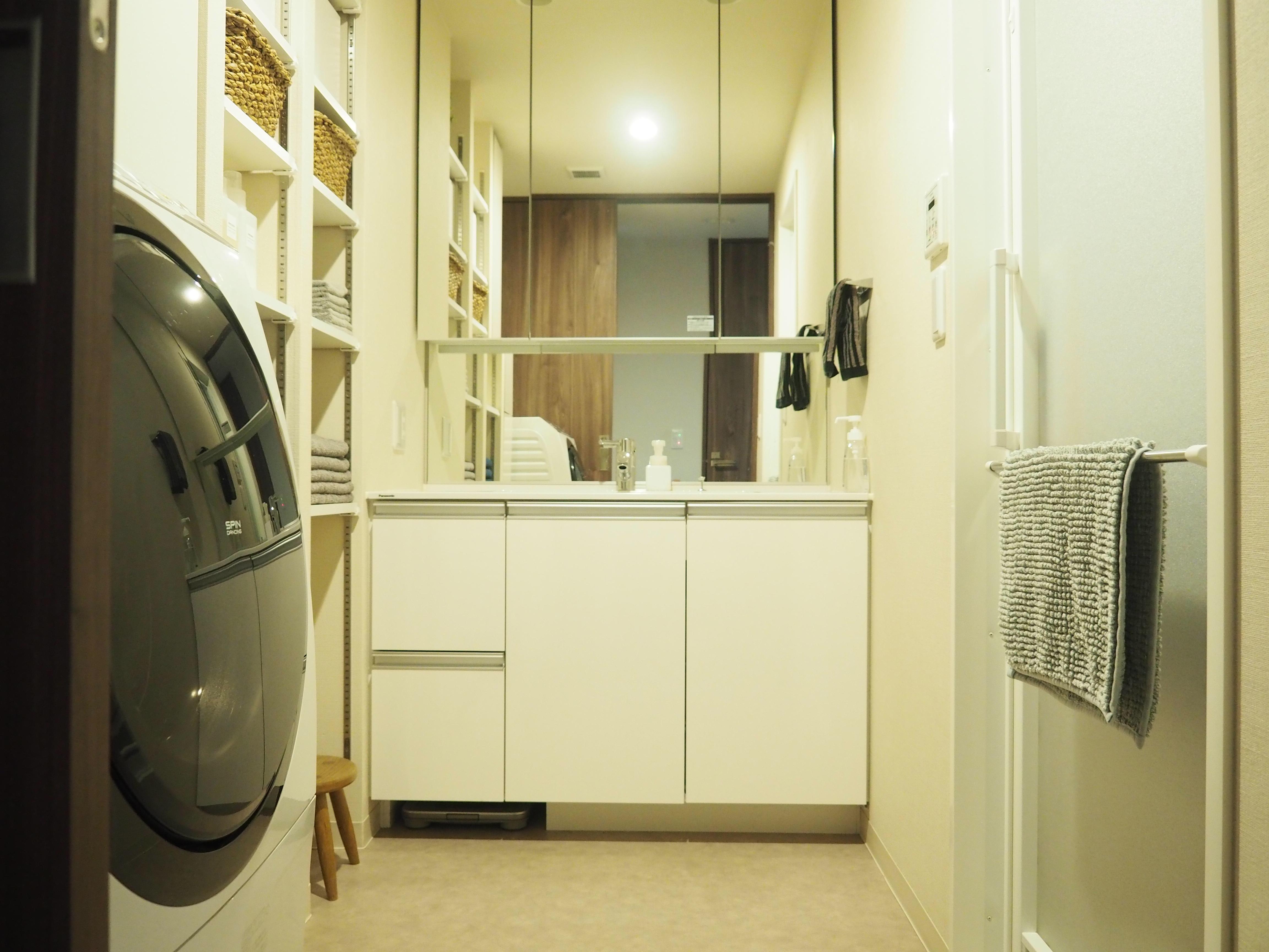 <マンション暮らしの洗面所>ラクするゴミ箱とバスマットのはなし